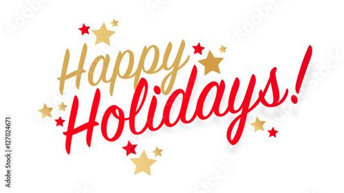 Happy holidays !\
