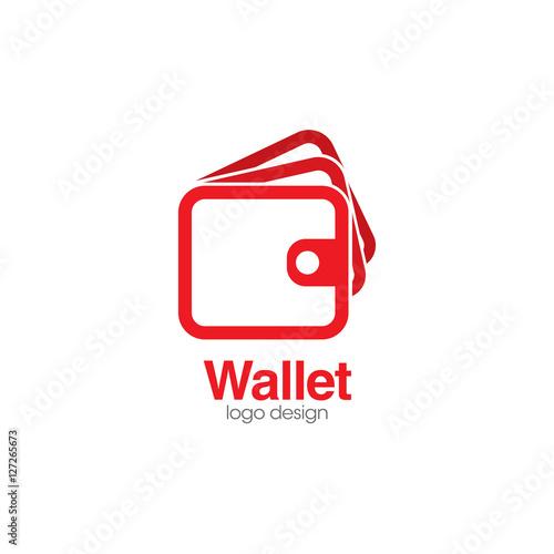 Wallet Creative Concept Logo Design Template\
