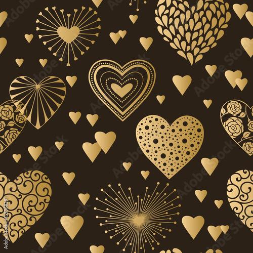 Cute Dia De Los Muertos Wallpaper Quot Cute Hearts Seamless Background Valentine S Day Ornament