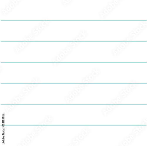 Notebook paper texture lined template Blank sheet of copybook - lined notebook paper template