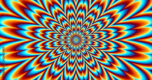 Pc Wallpaper 3d Eye Illusion Quot Contraction Vibration Optical Illusion Quot Stock Photo
