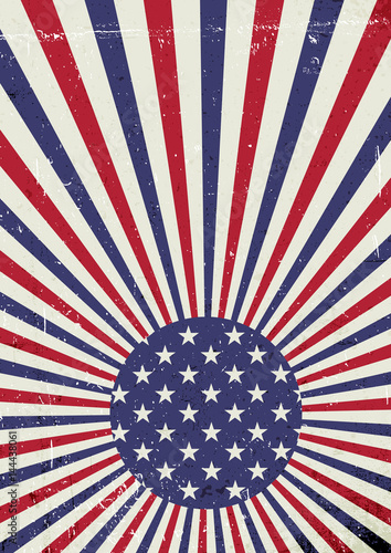 Grunge United States of America flag Abstract American patriotic
