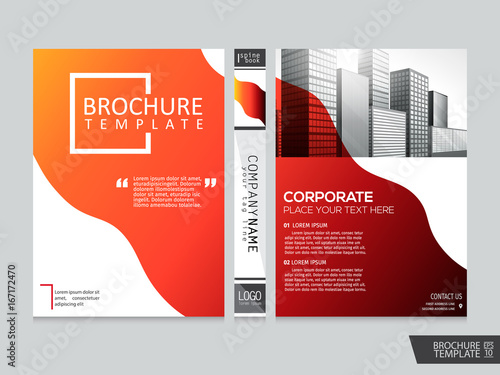 Apstract brochure template  Portfolio layout backgroundCover book