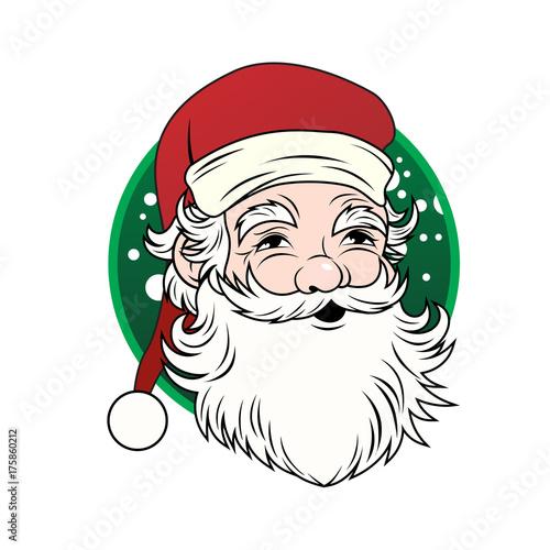 Vintage Santa Claus - Vector\