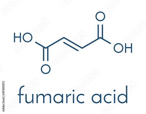 Fumaric acid molecule Found in bolete mushrooms, lichen and iceland