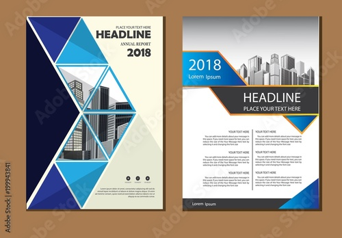 Vector flyer, corporate business, flyer, brochure design, annual
