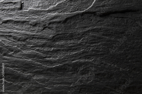 Dark gray slate texture, abstract background\