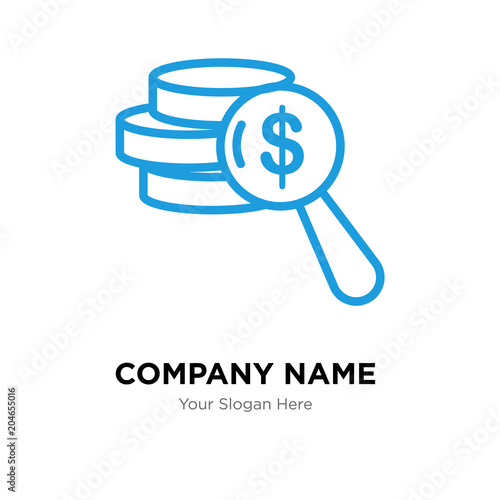 net worth company logo design template, colorful vector icon for - business net worth