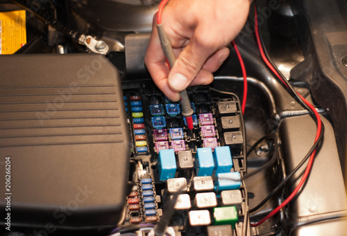 Car Fuse Box Tester - Detailed Wiring Diagram