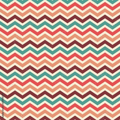 retro chevron striped background wallpaper vector in vintage color