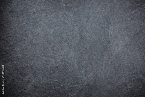 black grey slate background or texture\