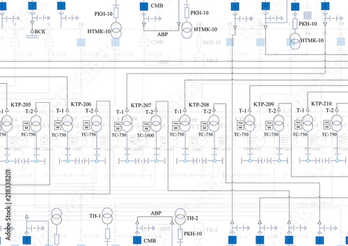 Electric wiring diagram\