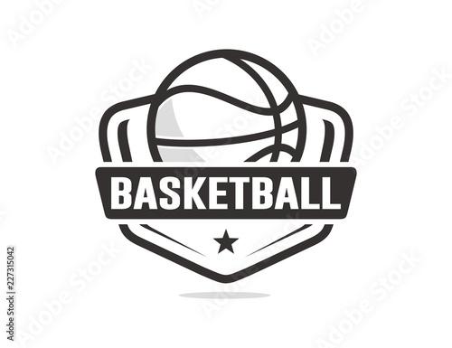 Basketball logo template\