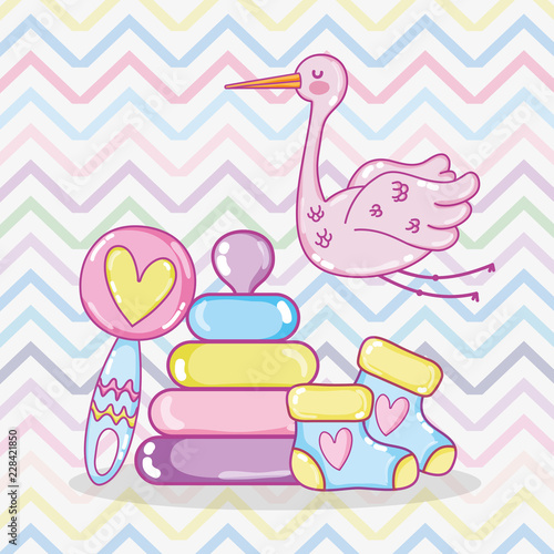 Baby shower cartoons\
