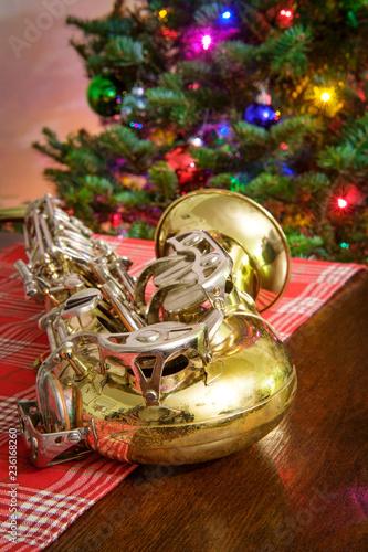 Christmas Music Saxophone Tree\