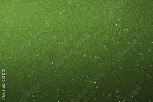 Green graduated background with star effect\
