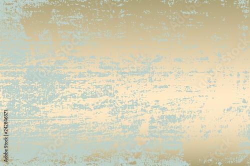 Abstract Grunge Pattina effect Pastel Gold Retro Texture Trendy