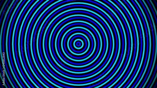 Colorful Circles Animation, Circle Transition Seamless Loops