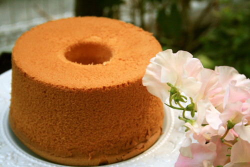 My Way To Remove A Chiffon Cake From The Pan | Washoku.Guide