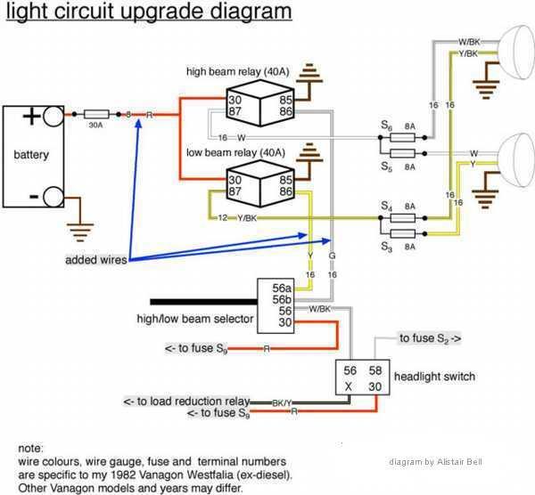 Headlight Relay Install - Vanagon Wiki