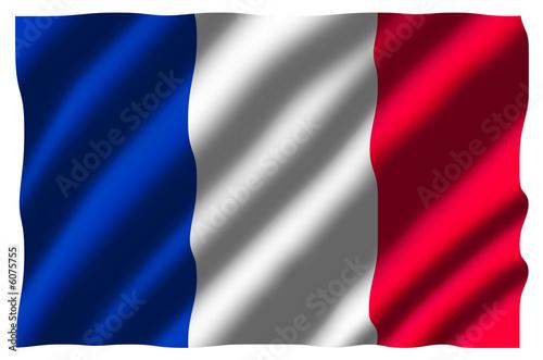 cv drapeau francais