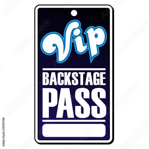 VIP Backstage Pass\