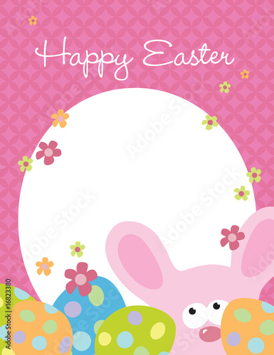 85x11 Easter Flyer Template\