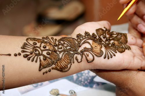 Small Cute Baby Wallpaper Download Quot Applying Henna On Hand Quot Stock Photo And Royalty Free