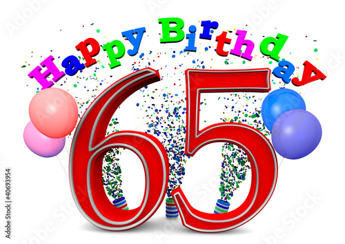 Quothappy Birthday 65quot Stock Photo And Royalty Free Images On