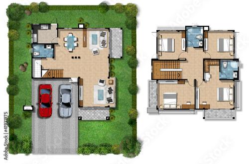 House plan presentation\