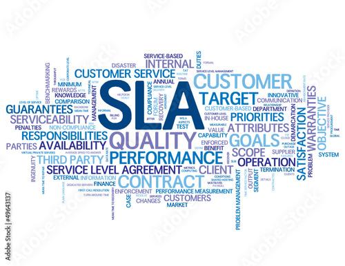 SLA\ - service level agreement