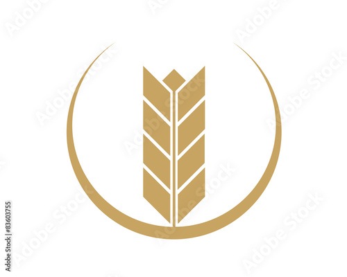 Wheat Logo Template\ - wheat template