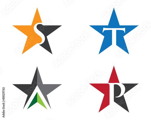 Star letter logo symbol\