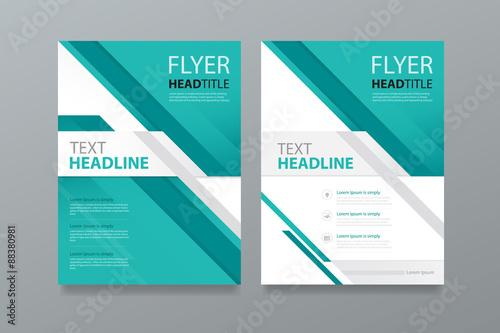 abstract brochure template design editablebook magazine cover