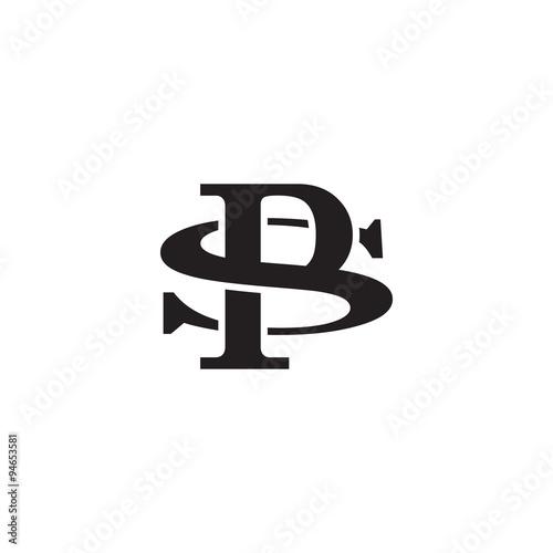 Letter S and P monogram logo\