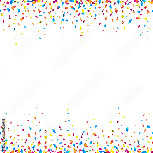 Purple Falling Circles Wallpaper Quot Celebration Background With Colorful Confetti Seamless