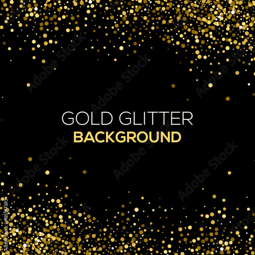 Falling Snow Wallpaper Animated Iphone Quot Gold Confetti Glitter On Black Background Abstract Gold