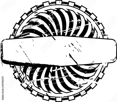 Empty rubber stamp template for your design See other rubber stamps - stamp template