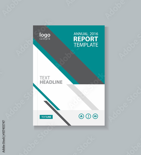 business cover design template , brochure , annual report, flyer - business profile template