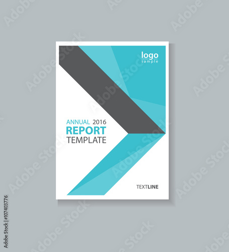 business cover design template , brochure , annual report, flyer - company profile