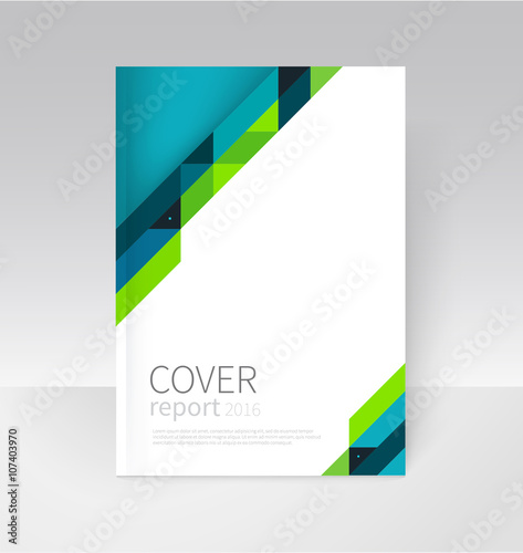 Cover design Brochure, flyer, annual report cover template a4 size