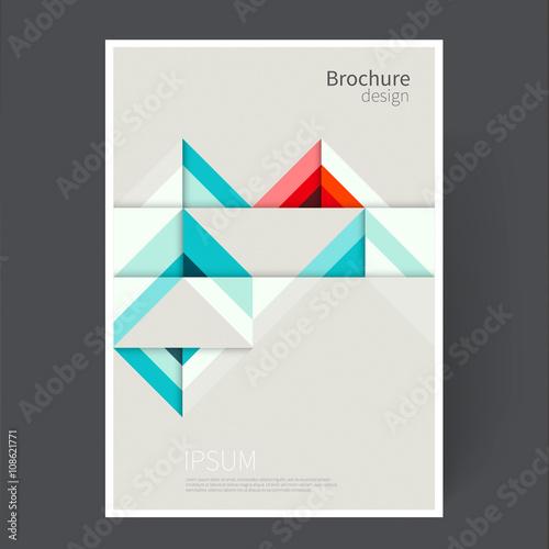 Cover design template Brochure, leaflet, flyer, catalog, page