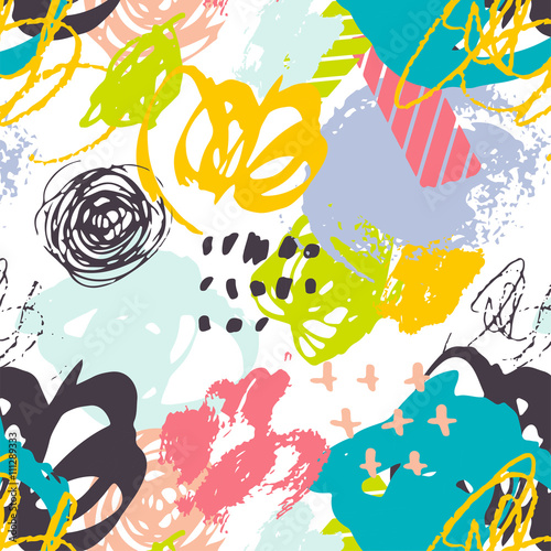 Creative hand drawn backgrounds collection Party, birthday, wedding