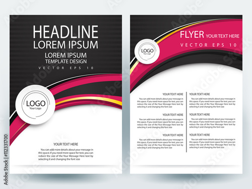 Business Brochure cover design,Brochure template layout ,Template