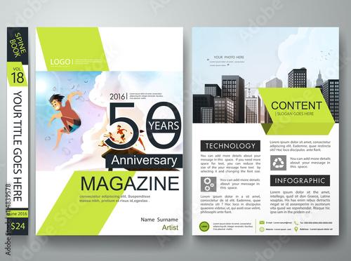 Brochure design template vectorBusiness flyers cover report