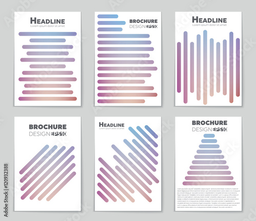 Abstract vector layout background for web and mobile app, art - blank sign in sheet