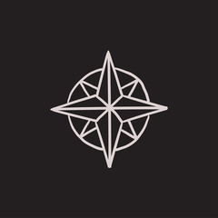 Compass rose sketches photos royalty free images