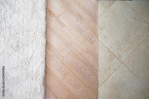 Quotfloor With Marble Tile Pattern Laminate Parquete Floor