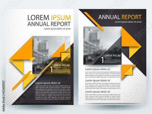 Abstract vector modern/ flyer design / brochure design template - modern brochure design