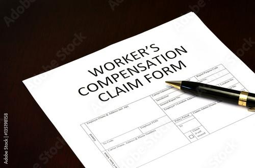 Worker\u0027s Compensation Claim Form Application\